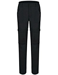 Geval Women's Slim Fit Convertible Quick Drying Outdoor Pants