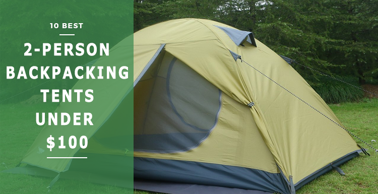 best 2-person backpacking tents under $100