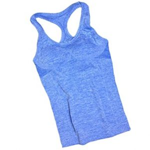 AKER Women's Active Fitness Workout Soft Stretch Racerback Yoga Tank Top Shirt