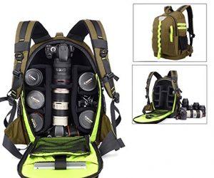 Abonnyc DRLBP-CZ Waterproof Anti-shock Backpack for DSLR and SLR Cameras