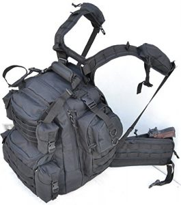 Explorer Tactical Gun Concealment Backpack With Molle Webbing