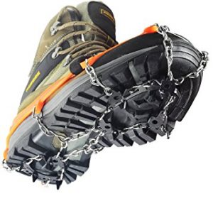 Ice Snow Cleat Spikes Crampons - YUEDGE Ice Snow Antiskid Crampons