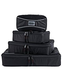 PRO Packing Cubes Travel Packing Organizers & Compression Pouches for Luggage