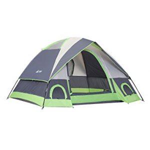 SEMOO Water Resistant D-style Door Dome Tent