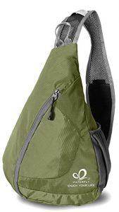 WATERFLY Packable Shoulder Backpack Sling