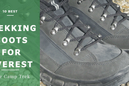 best hiking boots for everest base camp trek
