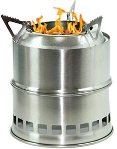 Camping Wood Burning Survival Stove