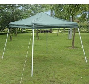 Outsunny Slant Leg Canopy Tent, Green