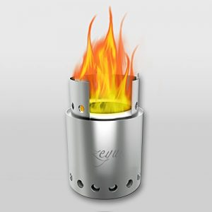 ZEYU Compact Wood Burning Backpacking Stove & Camping Stoves