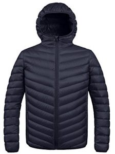 ZSHOW Winter Hooded Packable Down Jacket