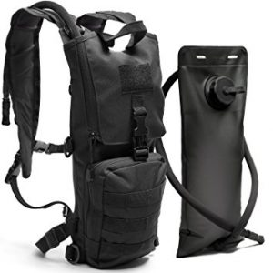 Diaz Sports Black Tactical Hydration Pack