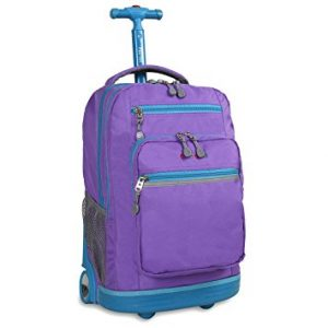 J World New York Rbs-19 Sundance Rolling Backpack