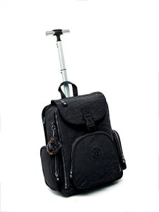 kipling alcatraz solid laptop wheeled backpack