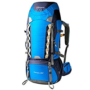 Mountaintop 55L+10L Hiking Backpack