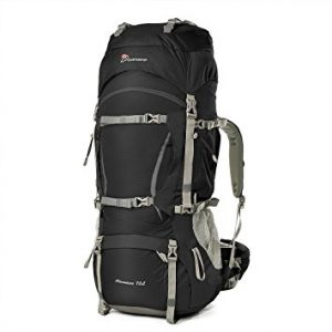 Mountaintop 70L+10L Internal Frame Backpack