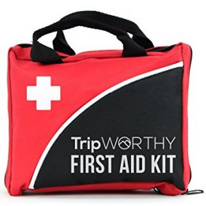 Trip Worthy Compact First Aid Medical Kit