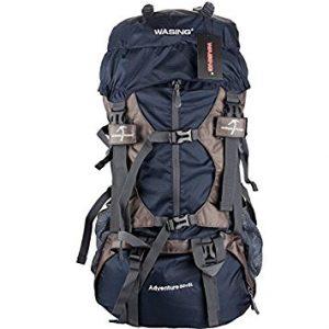 WASING 55L Internal Frame Backpack