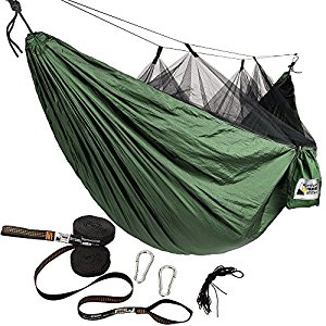 Adventure Gear Outfitter Backpacking Hammock with Mosquito Net