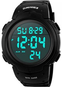 Cak Citys Men's Digital Sports Watch