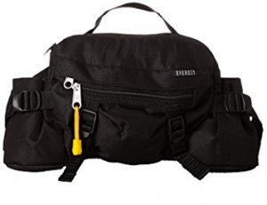Everest Lumbar Waist Pack with Water Bottle Holder