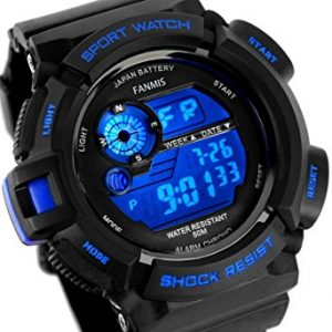 Fanmis Men's Military Multifunction Digital LED