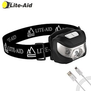 Lite-Aid Rechargeable LED Headlamp