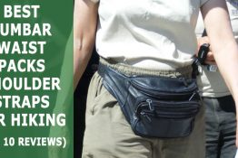 Best Lumbar Waist Packs with Shoulder Straps for Hiking