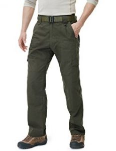 CQR Men's Tactical Pants Lightweight EDC Assault Cargo