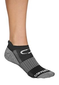 Copper Antibacterial Athletic Ankle Socks for Mens and  Womens