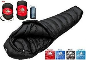 Hyke & Byke Quandary 15 Degree Down Sleeping Bag