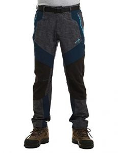 Makino Men's Hiking Pants Quick Dry Gear Lightweight for Boys Summer Pant