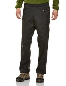 Marmot PreCip Full Zip Pant Men's, Small Long Black