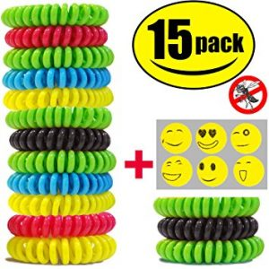 Pack Sumpol Natural Bug and Insect Repellent Bracelet