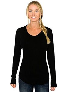 Women's Merino Wool Tunic Top Sweater