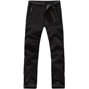 Yoyo Men's Softshell Waterproof Windproof pants