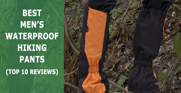 best men's waterproof hiking pants