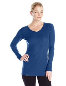 Ibex Merino Wool Women's Woolies 1 V-Neck Shirt