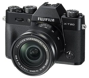 Fujifilm X-T20 Mirrorless Digital Camera