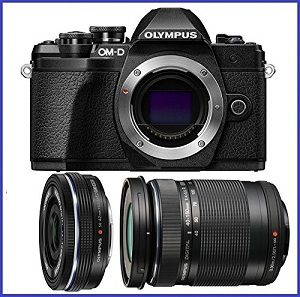 Olympus OM-D E-M10 Mark III Mirrorless Digital Camera