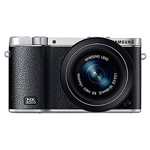 Samsung NX3000 Wireless Smart 20.3MP Mirrorless Digital Camera
