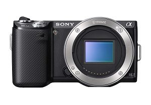Sony NEX-5N 16.1 MP Mirrorless Digital Camera