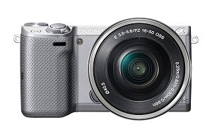 Sony NEX-5TL/S Mirrorless Digital Camera- Perfect for Travel Blogging
