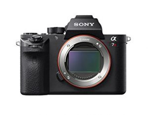 Sony a7R II Full-Frame Mirrorless Interchangeable Lens Camera