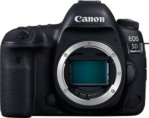 Canon EOS 5D Mark IV Full Frame DSLR